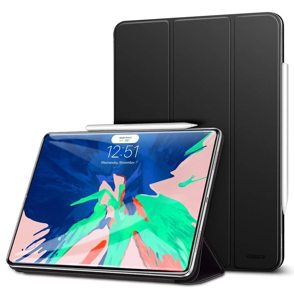 """Купить Магнитный кожаный чехол ESR Yippee Smart Case Black для iPad Pro 12.9"""" (2018)"""