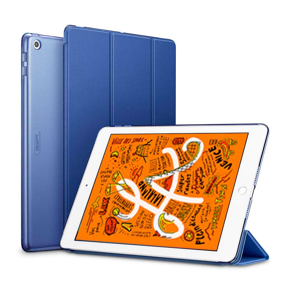 Купить Магнитный кожаный чехол ESR Yippee Trifold Smart Case Blue для iPad mini 5 | 4