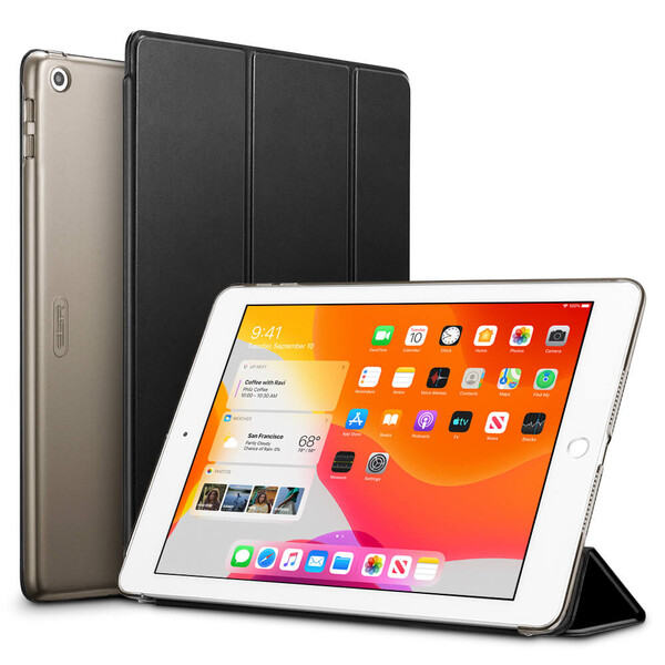 "Магнитный чехол ESR Yippee Trifold Smart Case Black для iPad 8 | 7 10.2"" (2020 | 2019)"