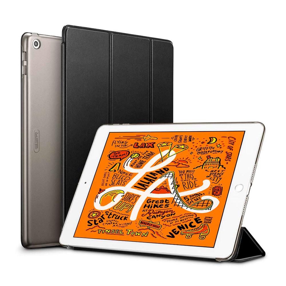 Магнитный кожаный чехол ESR Yippee Trifold Smart Case Black для iPad mini 5   4