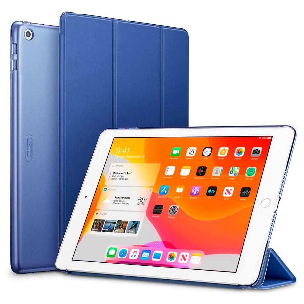 "Магнитный чехол ESR Yippee Trifold Smart Case Navy Blue для iPad 8 | 7 10.2"" (2020 | 2019)"