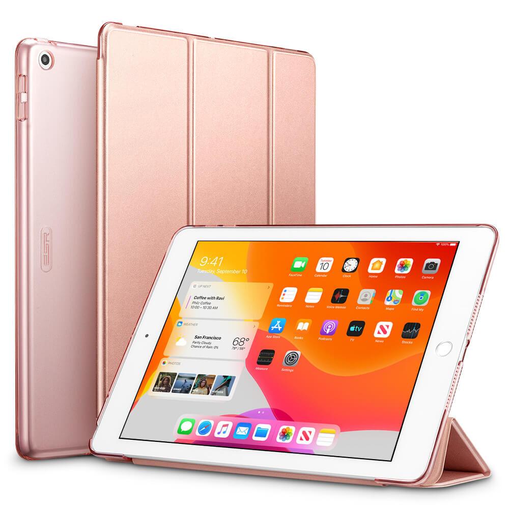 "Магнитный чехол ESR Yippee Trifold Smart Case Rose Gold для iPad 8 | 7 10.2"" (2020 | 2019)"