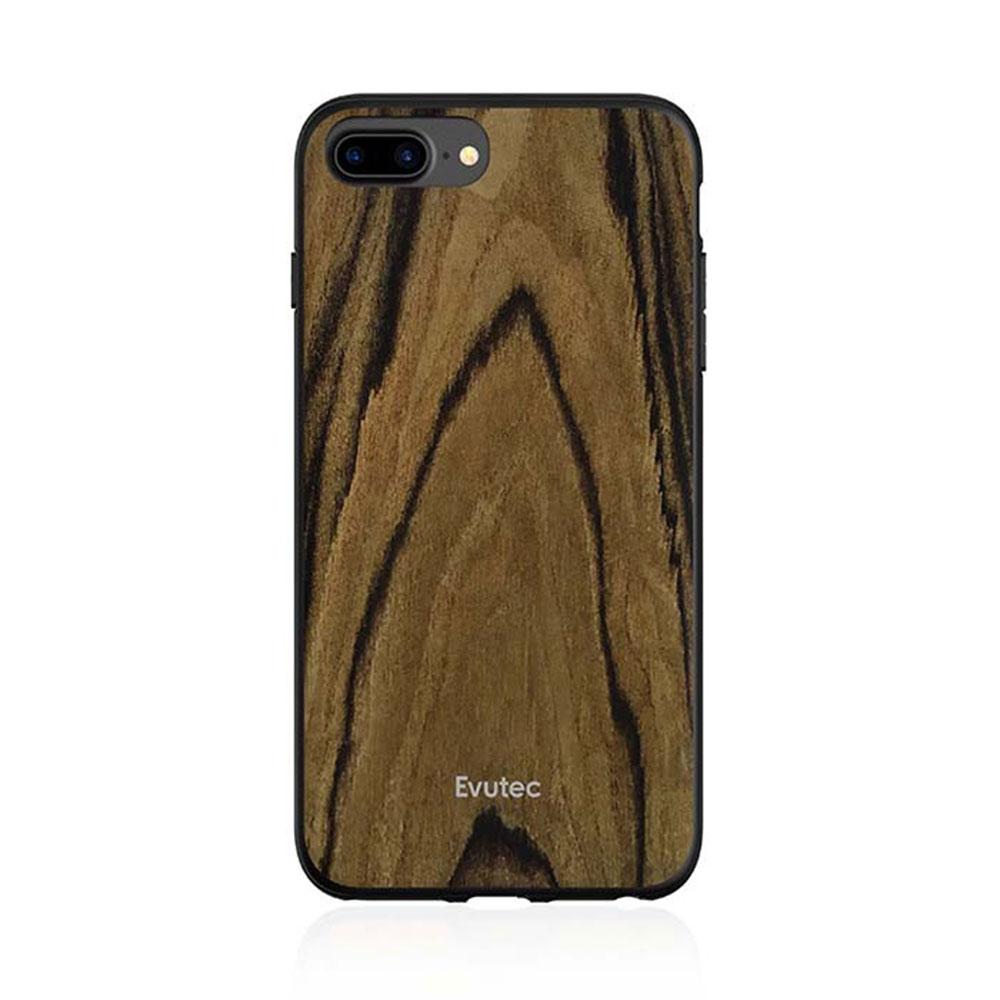 Купить Противоударный чехол Evutec AER Series Wood Burmese Rosewood для iPhone 8 Plus | 7 Plus | 6s Plus | 6 Plus с магнитным автодержателем