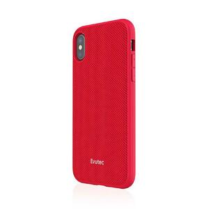 Купить Противоударный чехол Evutec AERGO Series Ballistic Nylon Red для iPhone X с магнитным автодержателем
