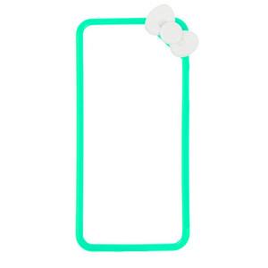 Купить Чехол с бантиком Fashion Bowknot Green для iPhone 5/5S/SE