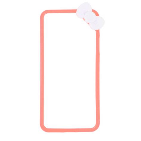 Купить Чехол с бантиком oneLounge Fashion Bowknot Pink для iPhone 5 | 5S | SE