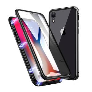 Купить Магнитный чехол oneLounge Glass Magnetic Case для iPhone XR