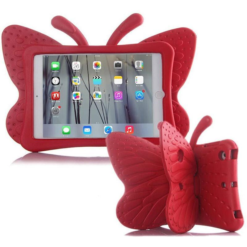 "Детский противоударный чехол iLoungeMax Cartoon Butterfly Red для iPad Pro 9.7""   Air   Air 2"