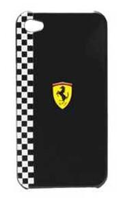 Купить Чехол Ferrari Formula-1 Black для iPhone 4/4S