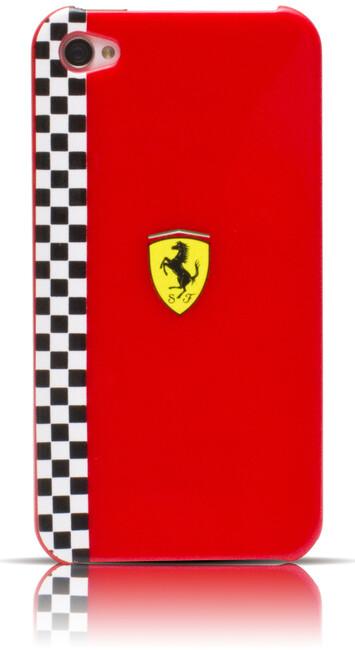 Чехол Ferrari Formula-1 Red для iPhone 4/4S
