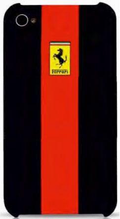 Чехол Ferrari GTR Red для iPhone 4/4S