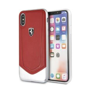 Купить Чехол Ferrari Heritage V Red для iPhone X/XS