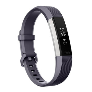 Купить Фитнес-браслет Fitbit Alta HR Small Blue Gray/Stainless Steel