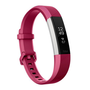 Купить Фитнес-браслет Fitbit Alta HR Small Fuchsia/Stainless Steel