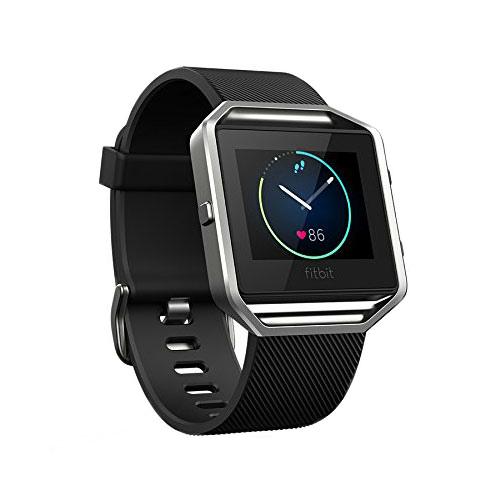 Спортивные смарт-часы Fitbit Blaze Black/Silver
