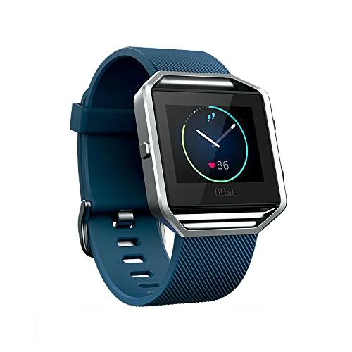 Спортивные смарт-часы Fitbit Blaze Blue/Silver