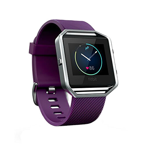Спортивные смарт-часы Fitbit Blaze Large Plum/Silver