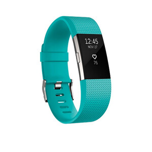 Купить Фитнес-браслет Fitbit Charge 2 Teal/Stainless Steel