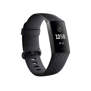 Купить Фитнес-браслет Fitbit Charge 3 Small/Large Black/Graphite Aluminum