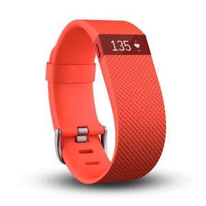 Купить Фитнес-браслет Fitbit Charge HR Tangerine