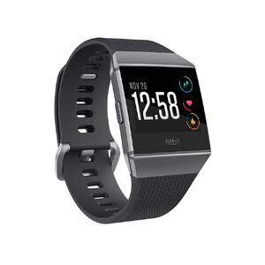 Купить Умные часы Fitbit Ionic S/L Charcoal/Smoke Gray