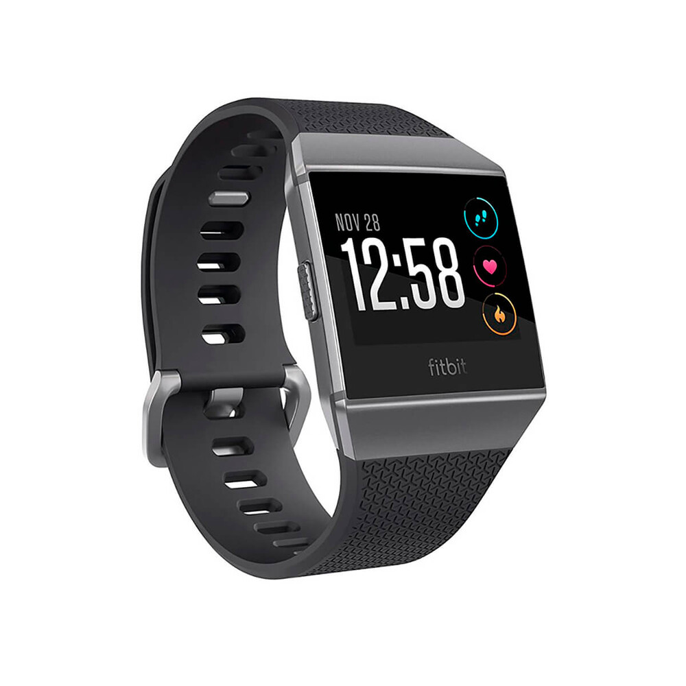 Купить Смарт-часы Fitbit Ionic Fitness Tracker S | L Charcoal