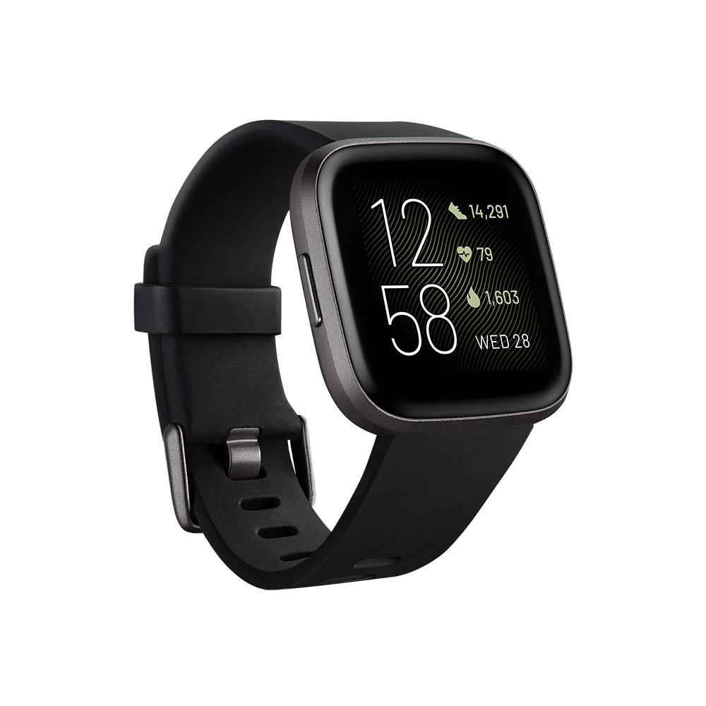Купить Умные часы Fitbit Versa 2 Black | Carbon Aluminum