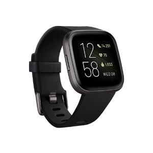 Купить Умные часы Fitbit Versa 2 Black/Carbon Aluminum
