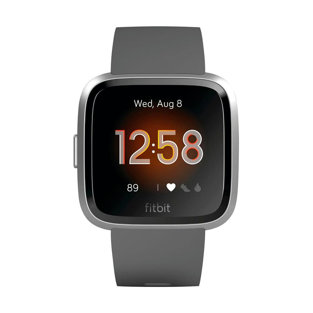 Купить Умные часы Fitbit Versa Lite Edition Charcoal   Silver