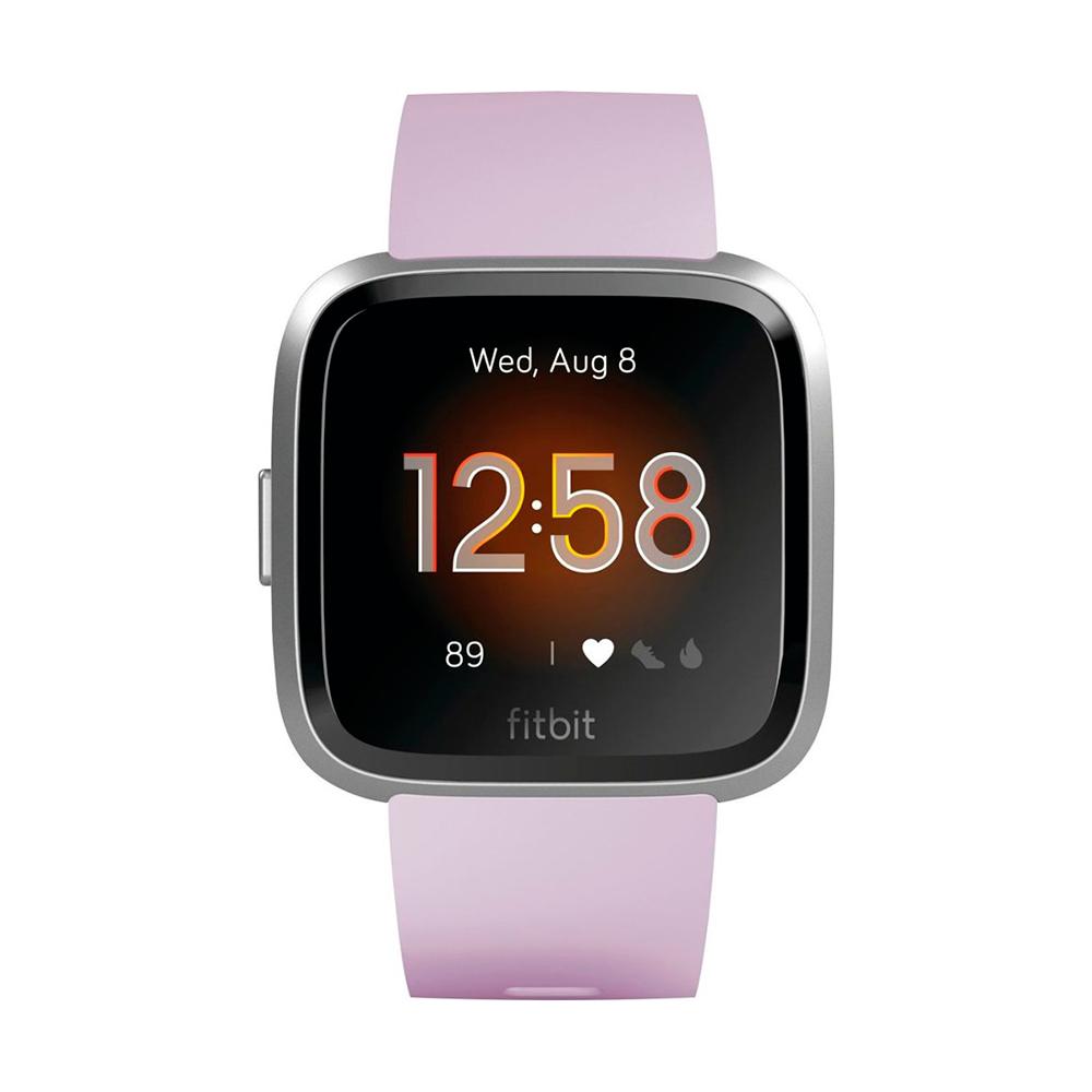 Купить Умные часы Fitbit Versa Lite Edition Lilac   Silver