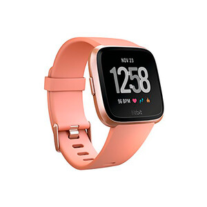 Купить Умные часы Fitbit Versa S/L Peach/Rose Gold