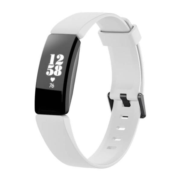 Фитнес-браслет Fitbit Inspire HR White | Black (Витринный образец)