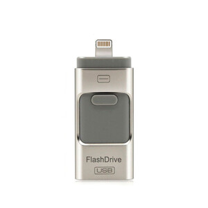 Купить Флешка i-Flash Drive Pendrive Silver 64GB для iOS/Android