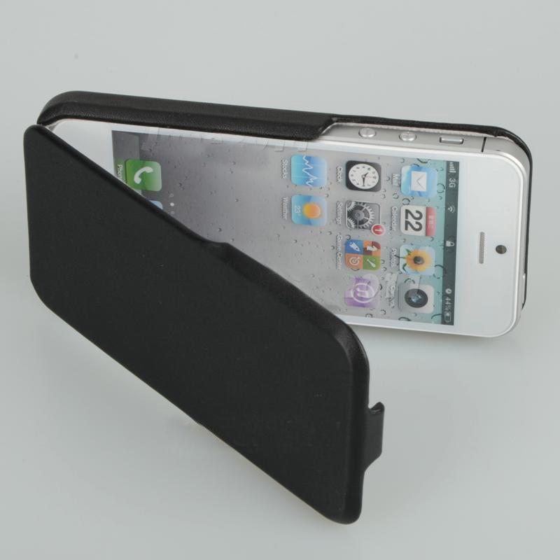 Кожаный флип-чехол для iPhone 5/5S/SE
