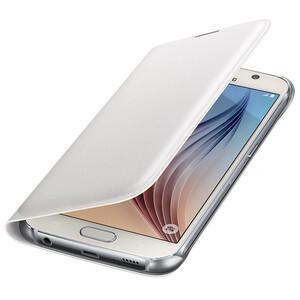 Купить Чехол Samsung Flip Wallet Cover White для Samsung Galaxy S6