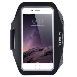 Купить Спортивный чехол FLOVEME Black для iPhone X/8 Plus/7 Plus/6s Plus/6 Plus