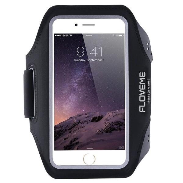 Спортивный чехол Floveme Black для iPhone 7 | 8 | SE 2020 | 6s | 6