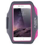 Спортивный чехол FLOVEME Hot Pink для iPhone X/XS/8 Plus/7 Plus/6s Plus/6 Plus