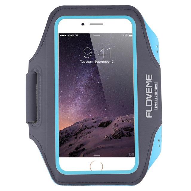 Купить Спортивный чехол Floveme Blue для iPhone X | XS | 8 Plus | 7 Plus | 6s Plus | 6 Plus