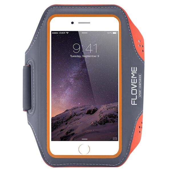 Спортивный чехол Floveme Orange для iPhone 7   8   SE 2020   6s   6