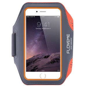 Купить Спортивный чехол FLOVEME Orange для iPhone 7/6s/6 Plus