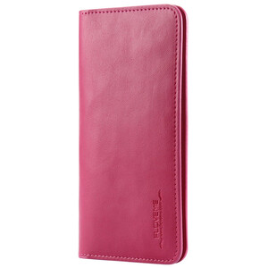 Купить Кожаный чехол-кошелек FLOVEME Hot Pink для iPhone X/8 Plus/7 Plus/6s Plus/6 Plus & Samsung S7/S6 Edge/S8 Plus/S9 Plus