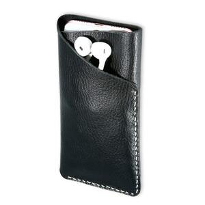 Купить Кожаный чехол-карман FLOVEME Black для iPhone 7/6s/6/SE/5s/5