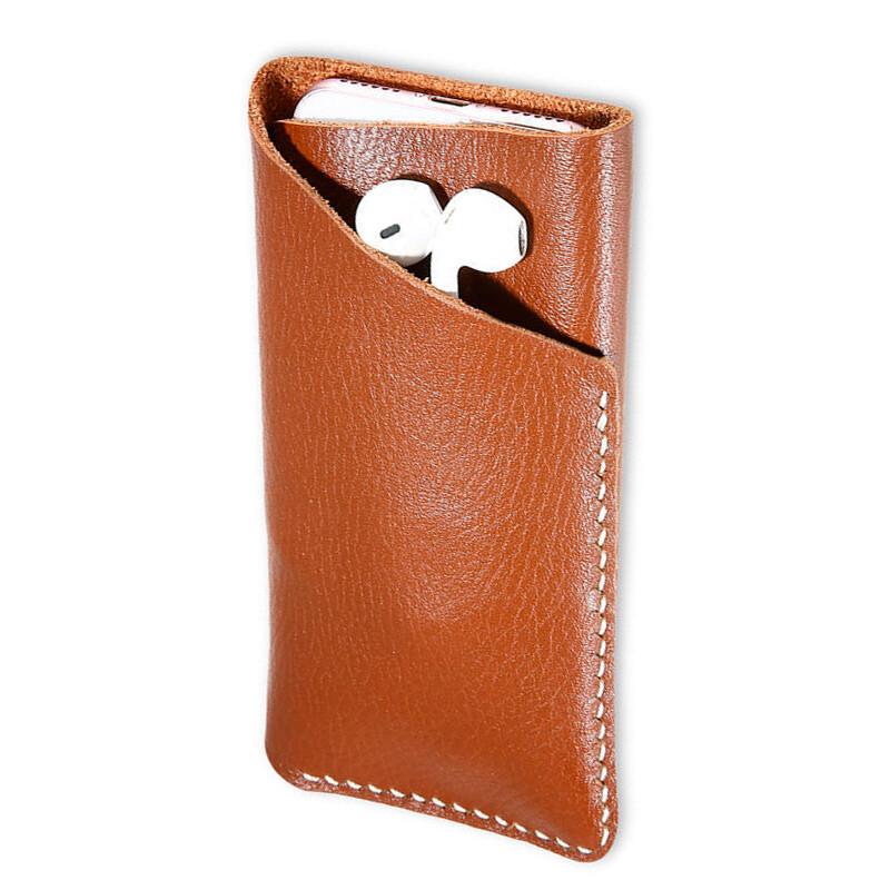Кожаный чехол-карман FLOVEME Brown для iPhone 8/7/6s/6/SE/5s/5