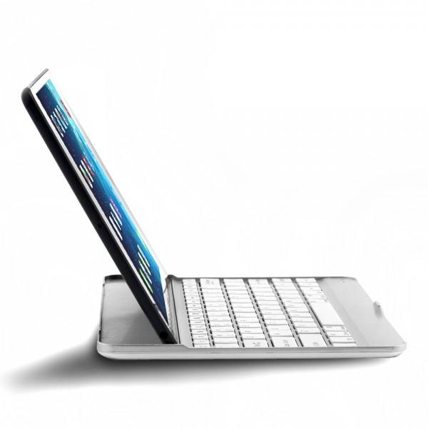 "Алюминиевая Bluetooth-клавиатура iLoungeMax EGGO для iPad Pro 9.7"" | Air 2 | 1 | 9.7"" (2017 | 2018) Silver"
