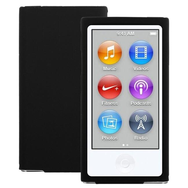 Черный силиконовый чехол WAVE для iPod Nano 7G/8G