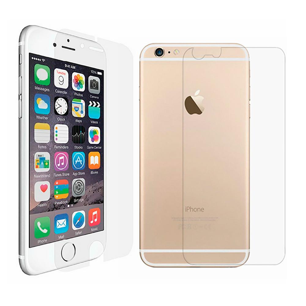 Купить Задняя + передняя защитная пленка oneLounge SilicolView для iPhone 6 Plus   6s Plus