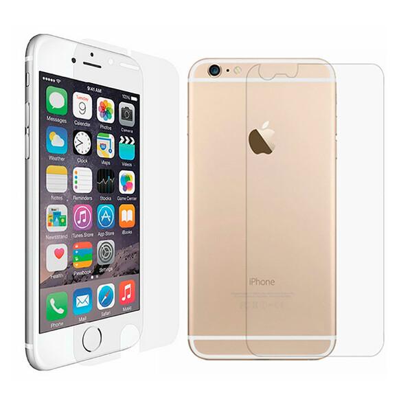 Задняя + передняя защитная пленка iLoungeMax SilicolView для iPhone 6 Plus   6s Plus