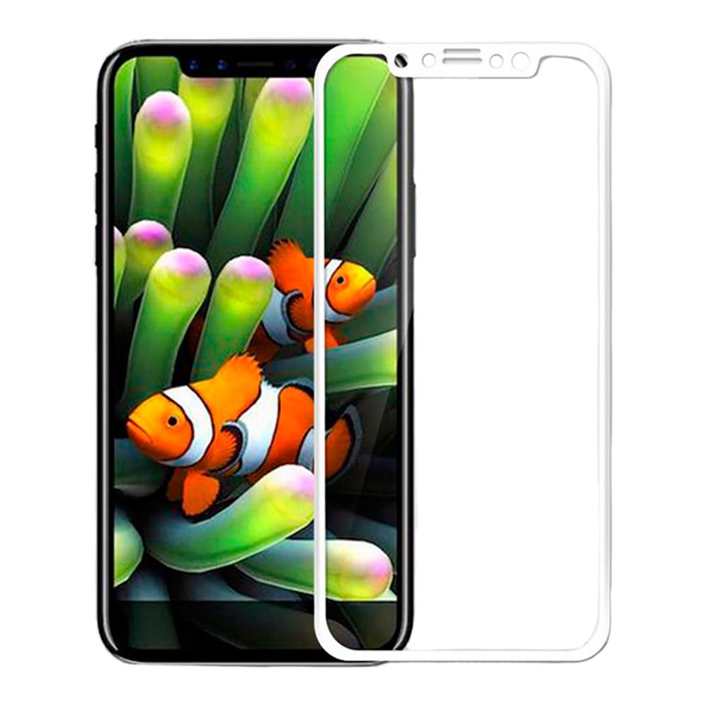 Купить Защитное стекло oneLounge SilicolEdge White для iPhone 11 Pro | X | XS