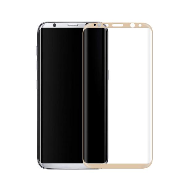 Защитное стекло oneLounge Full Cover Glass Gold для Samsung Galaxy S8